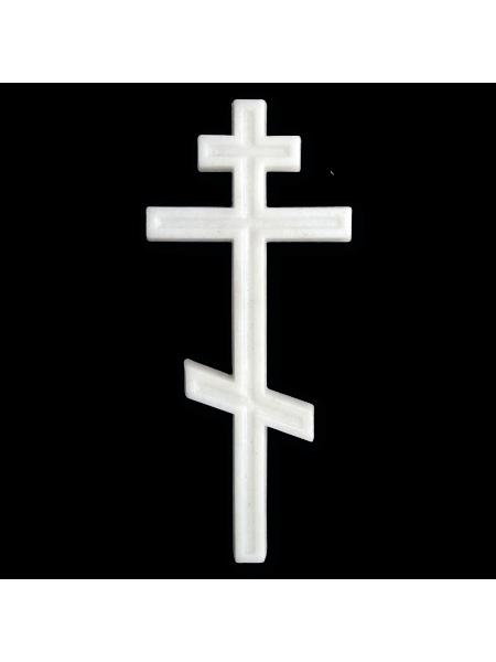 Крест 195*90 Православный М9 полимер (мрамор)