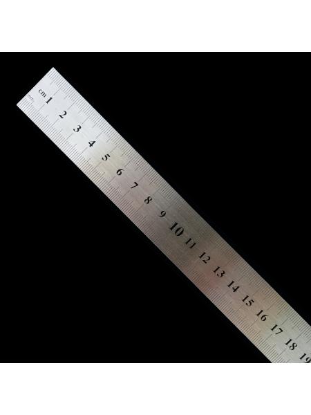 Линейка металлическая 50*3 см (Китай)