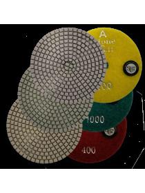 Диск Гибкий Полировальный 100 DRY/WET StoneCraft  SС