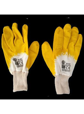Перчатки маслобензостойкие с трикотажным манжетом
